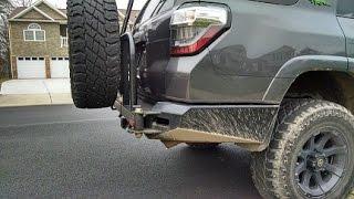 shrockworks rear bumper for 5th gen 4runner review