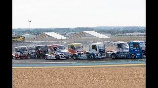 Official truck racing highlights FIA ETRC 2017 Round 8 Le Mans