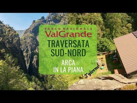 Arca, In la Piana 🏃 VAL GRANDE 🏔 Full crossing Ponte Casletto - Colloro [Part 2]