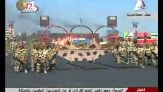 شاهد.. سلاح المظلات يقدم عروضًا عسكرية باحتفال 6 أكتوبر