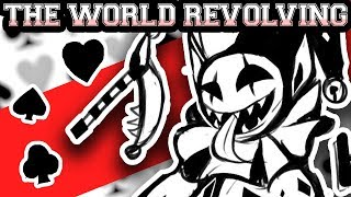 Deltarune ~ THE WORLD REVOLVING (Jevil Theme) ~ Tudd Happy Har…