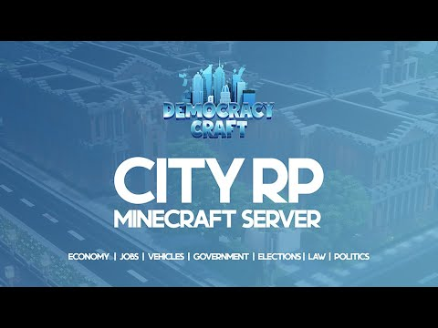 DemocracyCraft (1.16) City RP  Trailer