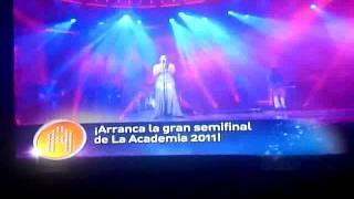Yuridia - YA TE OLVIDE - CANTANDO EN LA semifinal ACADEMIA