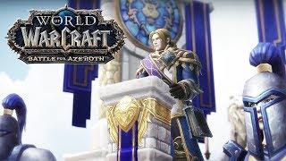 World of Warcraft Battle For Azeroth Gameplay Trailer (2018) HD