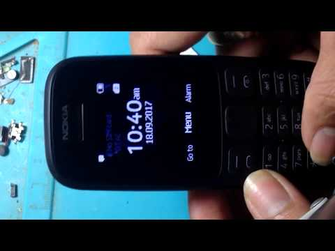 Nokia 105: 2017(TA-1034) Mic Problem Solution