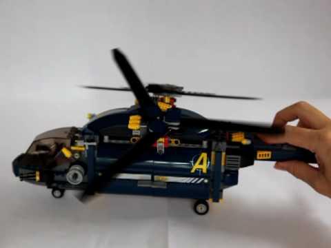 8971 LEGO Agents: Aerial Defense- Propeller Spinning
