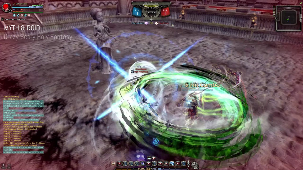 Dragon Nest SEA PvP : Some real style like back in the days