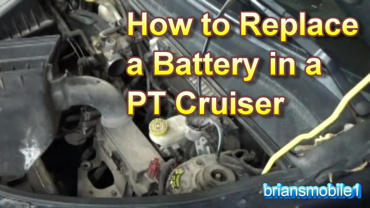 Pt Cruiser Battery Replacement