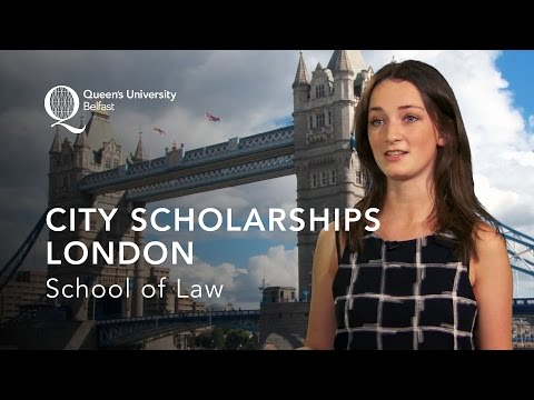 Living and Working in London - City Scholarships and the School of Law