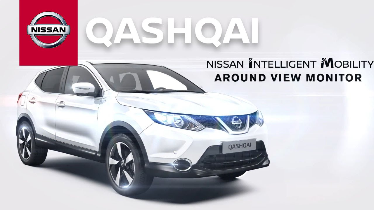nissan qashqai n vision with intelligent around view monitor avm youtube. Black Bedroom Furniture Sets. Home Design Ideas