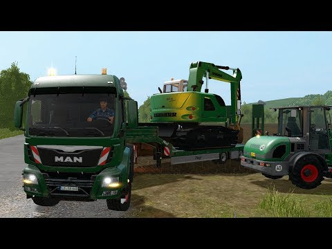 Farming Simulator 17 - Forestry and Farming on The Valley The Old Farm 094 thumbnail