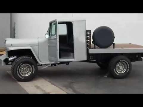 1951 Willys Jeep Pickup Custom Truck