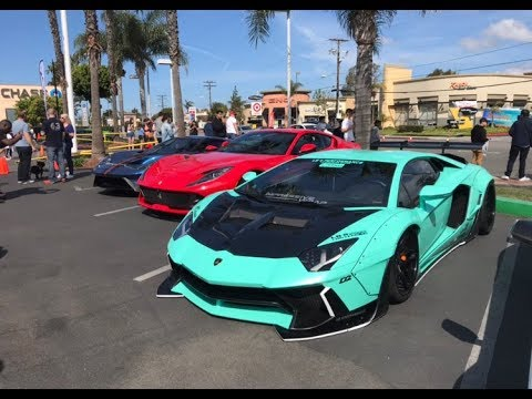 Supercar Show Lamborghini Newport Beach Car Show 04 06 2019 Youtube