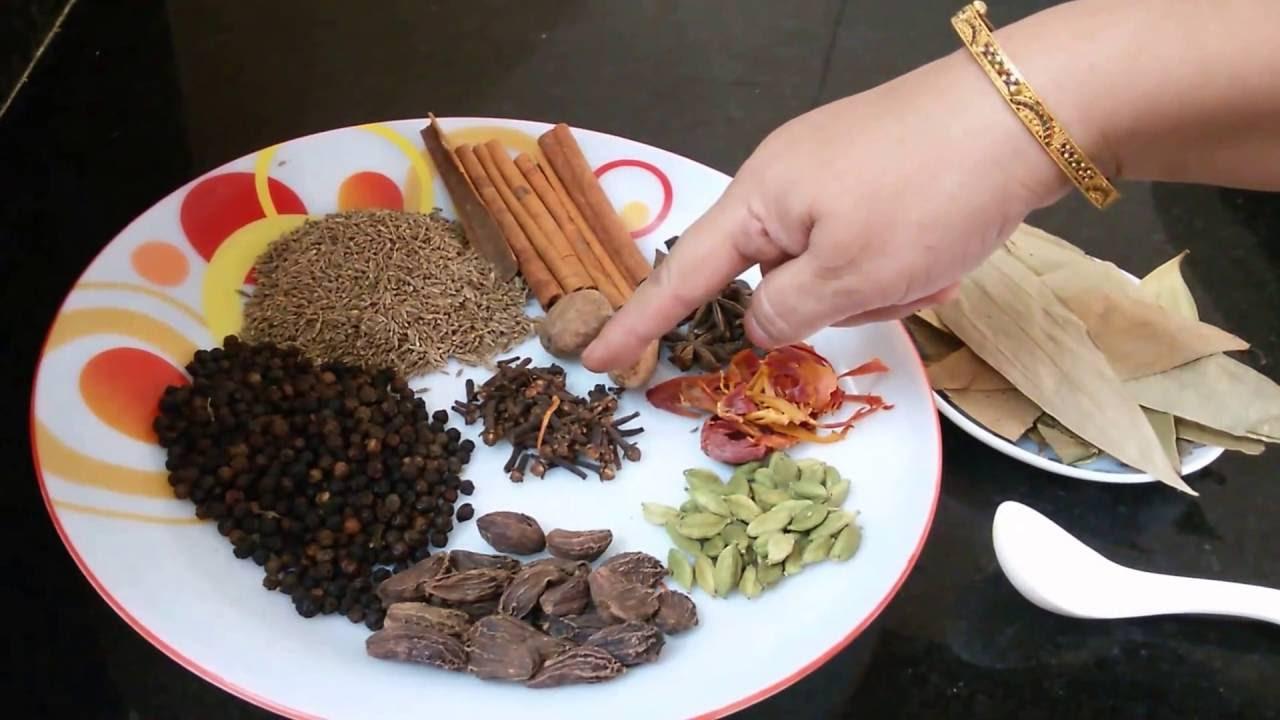 Homemade garam masala recipe in hindi garam masala my kitchen my dish youtube - Garam masala recette ...