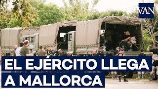[INUNDACIONES MALLORCA] El ejército aterriza en Sant Llorenç