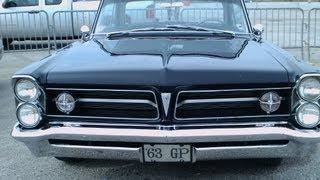 1963 Pontiac Grand Prix DkBlu DaytonaSpdwy032413