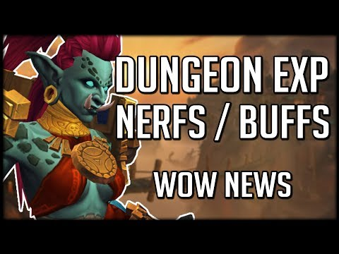DUNGEON EXPERIENCE NERFS AND BUFFS! Easier or Harder To Level Now? | WoW News