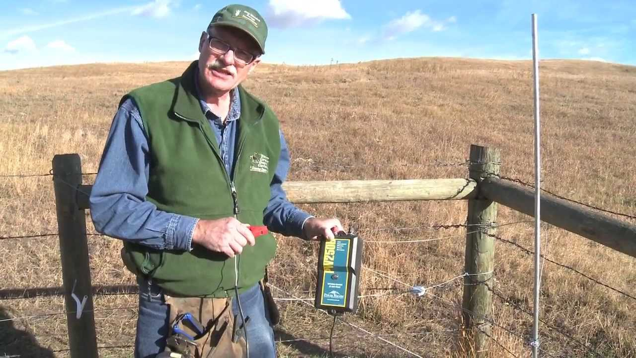 how to hook up an electric fence energizer [ 1280 x 720 Pixel ]