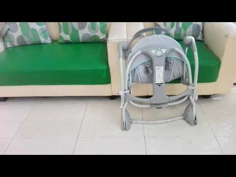Mommy Baby Rent - Cara Melipat dan Membuka Baby Swing Ingenuity Bright Starts