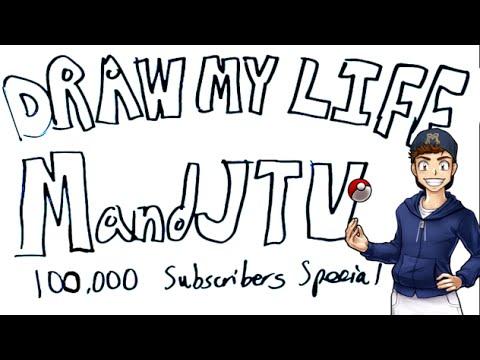 Draw My Life - MandJTV (100k Subscribers Special)