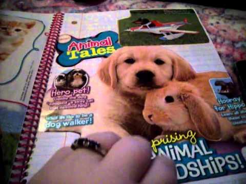 Journal Flip Through #12 (Pink Hello Kitty Spiral)