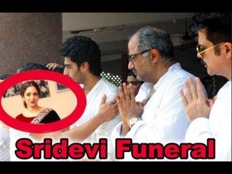 Sridevi's Funeral   Amitabh, Jeetendra, Mika, Prasoon, Suniel & Others Pay Last Tribute