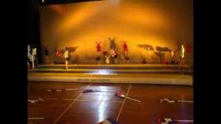 SV Raduga Enter Uitvoering 2011 springgroep nummer Wilhelmus