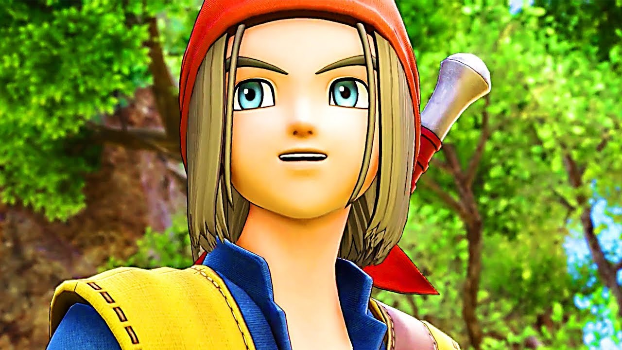DRAGON QUEST 11 – Dragon Quest 8 Costume Reveal Trailer (2018) PS4 / Switch / PC