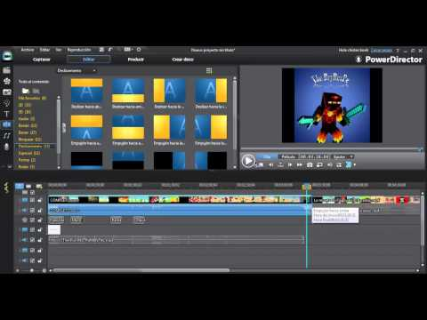TUTORIAL | cómo hacer un video con Power Director