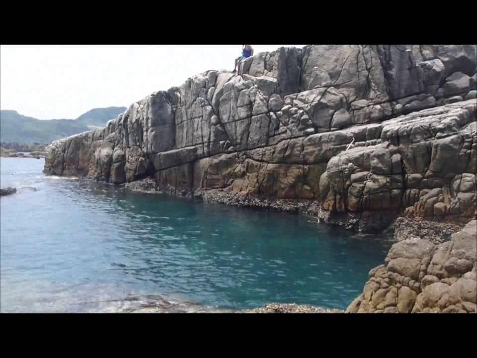 龍洞灣祕境跳水 - YouTube