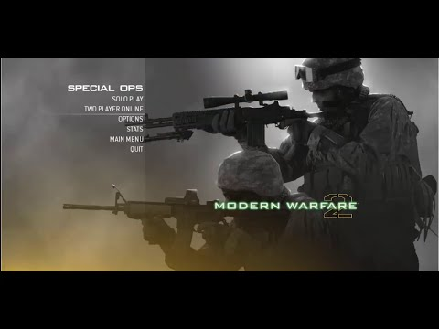 Call Of Duty:Modern Warfare 2 How To Play Multiplayer Co-op Lan