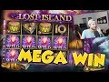BIG WIN!!! Lost Island Huge Win from LIVE Stream - Slots (free spins)