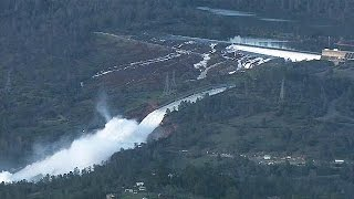 Drohender Dammbruch: Notstand in mehreren Bezirke in Kalifornien