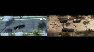 VFX BREAKDOWN HD: 2012 LA Limo before and after from Marc Dominic Rienzo
