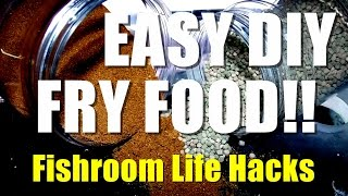 Easy Diy Fry Food!! | Fishroom Life Hacks