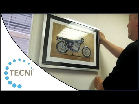 How To Hang A Picture With Tecni®grip Fittings