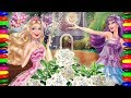 Disney Princess BARBIE Coloring Pages for Girls| Children Learning for kids Colours