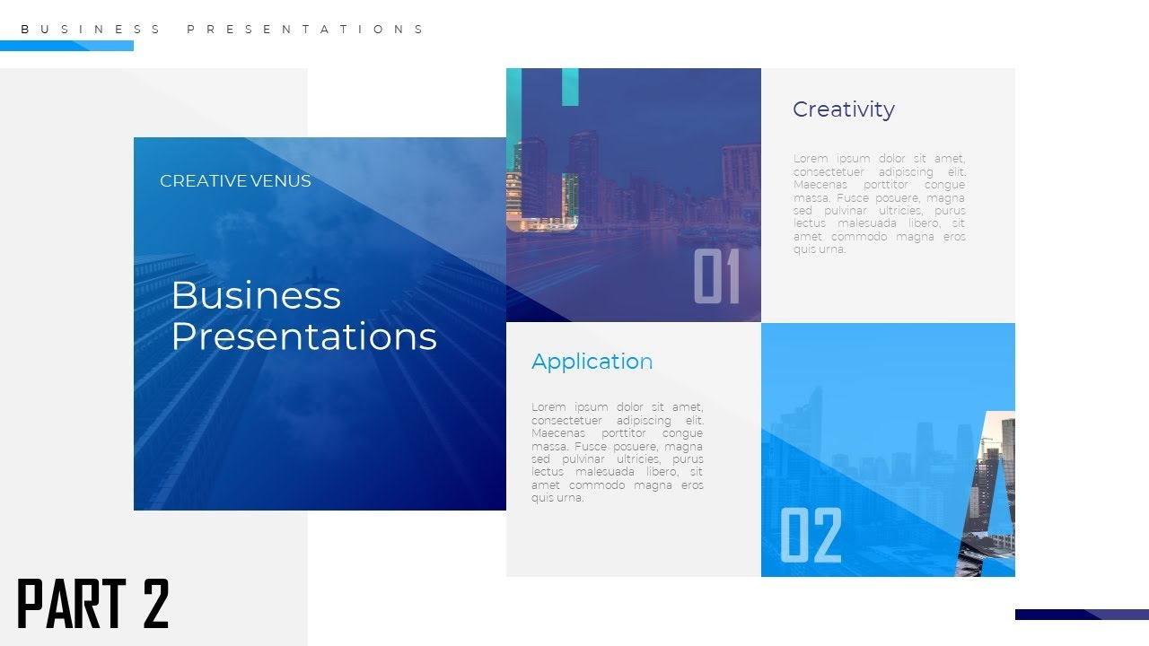 business presentation slide design tutorial microsoft powerpoint