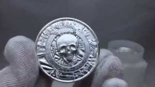 2 oz Silver Privateer Bullion Pirate Rounds - BGASC.com