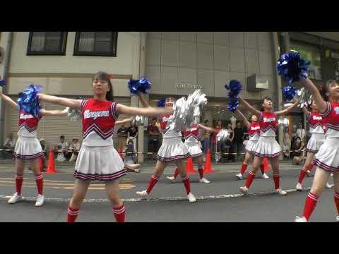まるがめ婆娑羅まつり2019 チアダンス