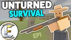 NEW WORLD AFTER THE INFECTION - Unturned Survival EP 1 (Finding A Place To Call Home)