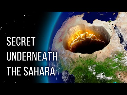 Something Huge Is Hidden Beneath the Sahara Desert