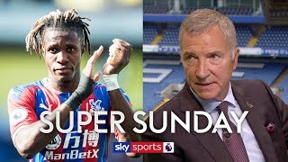 """I see him as a Real Madrid or Barcelona player!"" - Graeme Souness on Crystal Palace's Wilfried Zaha"
