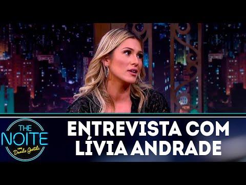 Entrevista com Lívia Andrade  The Noite 120418