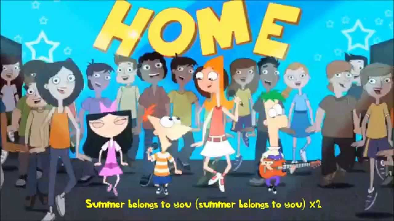 Phineas and Ferb - Summer Belongs to You Demo Lyrics