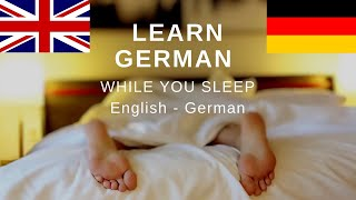 Learn German while you sleep ⭐⭐⭐⭐⭐German for beginners
