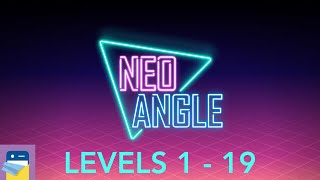 Neo Angle: Levels 1 - 19 Walkthrough Guide & iOS iPad Gameplay (by Dropout Games)