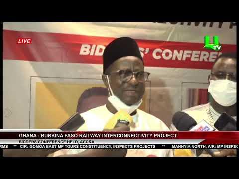 Ghana - Burkina Faso Railway Interconnectivity Project Bidders Conference Held