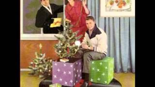 Weihnachten mit einer Schallplatte von Polydor - Werbeplatte