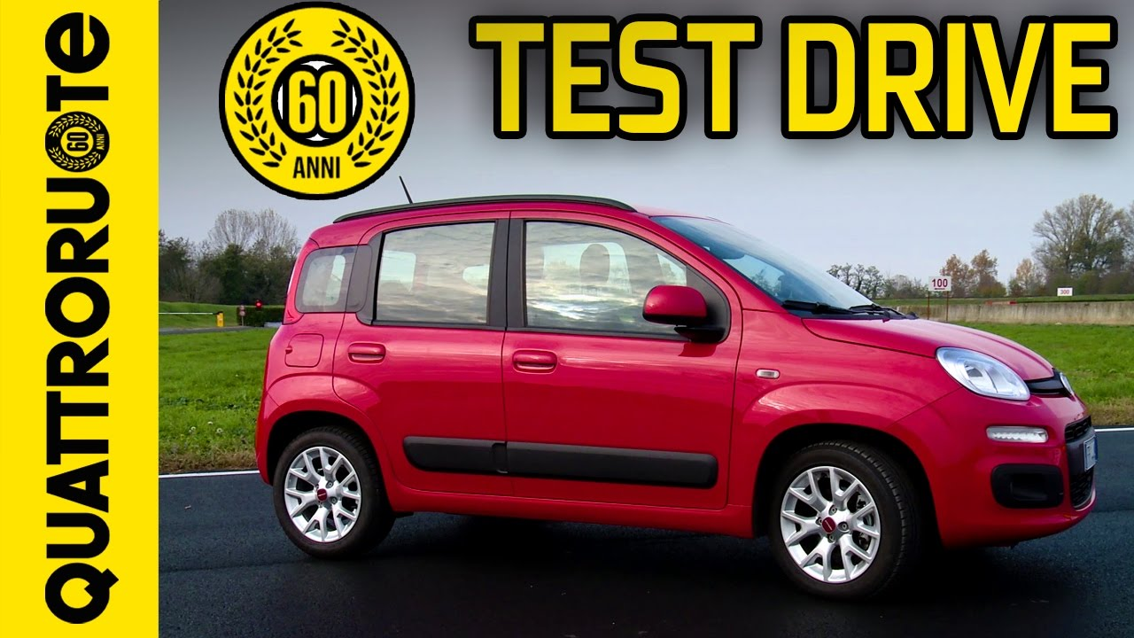 nuova fiat panda 2017 il test drive di quattroruote youtube. Black Bedroom Furniture Sets. Home Design Ideas